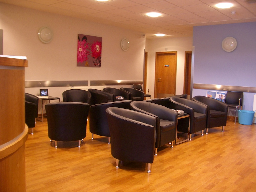 Cardiff Bay Clinic Inside