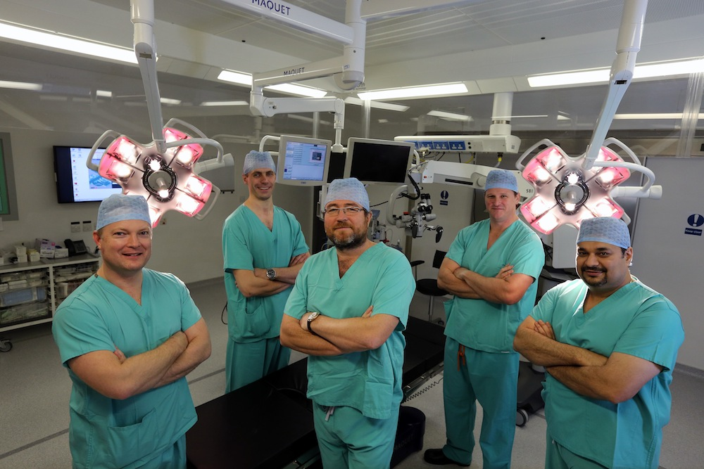 The South Wales Spinal Centre Consultant Surgeons